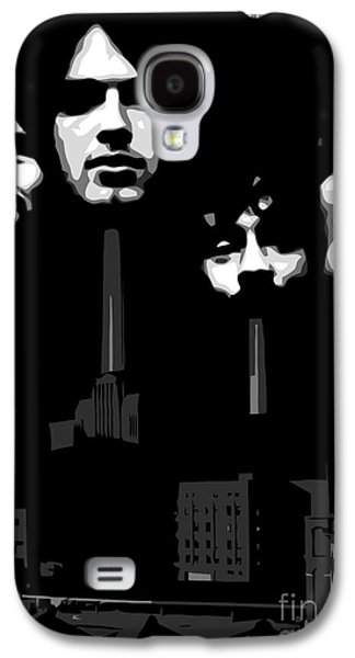 Famous Artist Galaxy S4 Cases - Pink Floyd No.02 Galaxy S4 Case by Caio Caldas