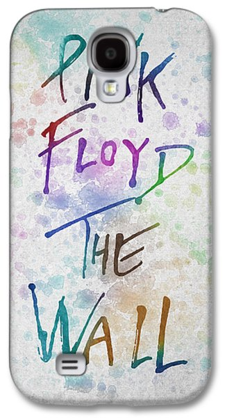Pink Digital Art Galaxy S4 Cases - Pink Floyed The Wall Galaxy S4 Case by Aged Pixel