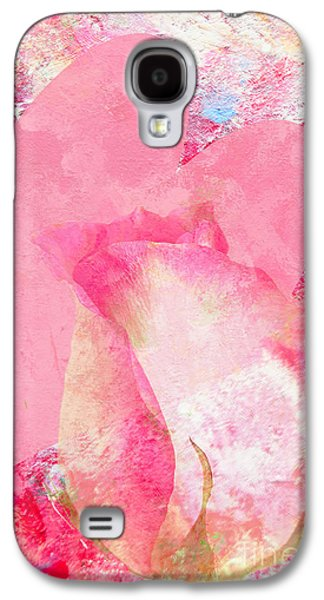 Greeting Cards For Cancer Galaxy S4 Cases - Pink for Love  Galaxy S4 Case by Regina Geoghan