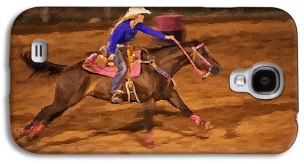 Wild Racers Galaxy S4 Cases - Pink Galaxy S4 Case by Jack Milchanowski