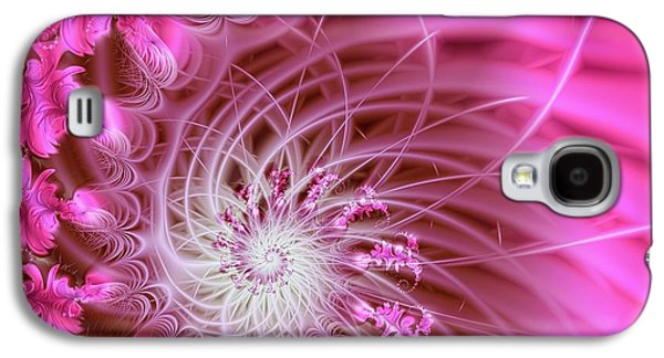 Pink Galaxy S4 Case by Lena Auxier