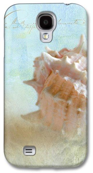 Seashell Digital Art Galaxy S4 Cases - Pink Murex Seashell Galaxy S4 Case by Betty LaRue