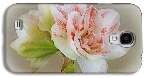Indiana Flowers Galaxy S4 Cases - Pink Nymph Galaxy S4 Case by Sandy Keeton