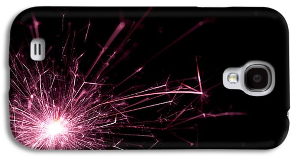Sparkling Galaxy S4 Cases - Pink Sparkle Galaxy S4 Case by Samuel Whitton