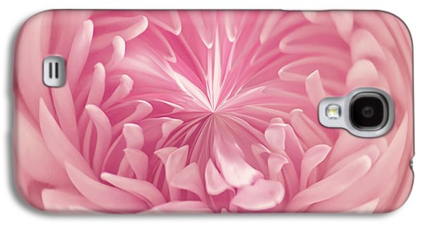 Abstract Digital Photographs Galaxy S4 Cases - Pinkness Galaxy S4 Case by Kim Hojnacki