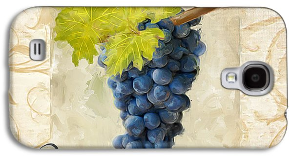 Grape Vineyard Galaxy S4 Cases - Pinot Noir Galaxy S4 Case by Lourry Legarde