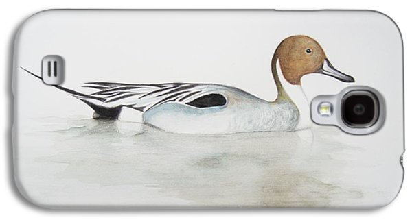 Pintail Duck Galaxy S4 Case by Ele Grafton
