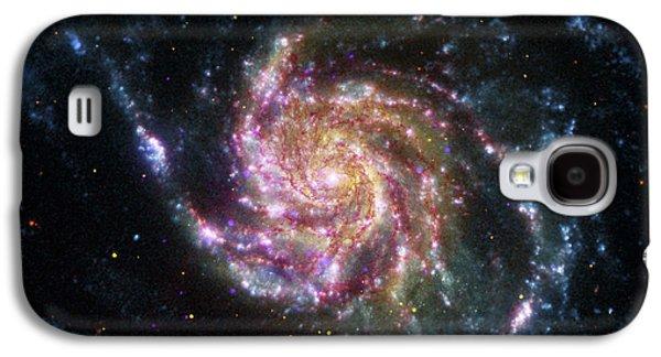 Stellar Galaxy S4 Cases - Pinwheel Galaxy Rainbow Galaxy S4 Case by Adam Romanowicz