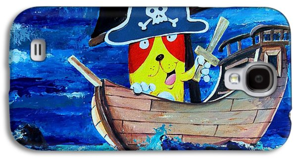 Pirate Kitty Galaxy S4 Case by Scott Nelson