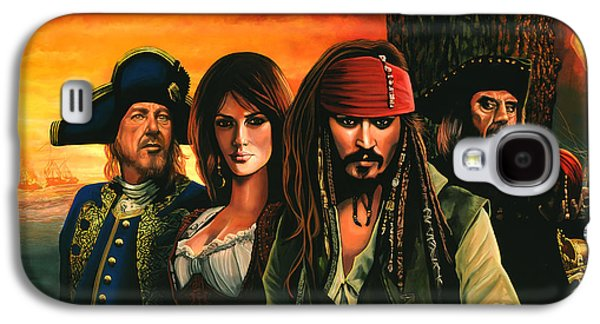 Pirates Of The Caribbean  Galaxy S4 Case by Paul Meijering