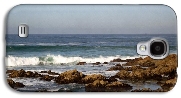 Nature Scene Digital Art Galaxy S4 Cases - Pismo Beach Seascape Galaxy S4 Case by Barbara Snyder