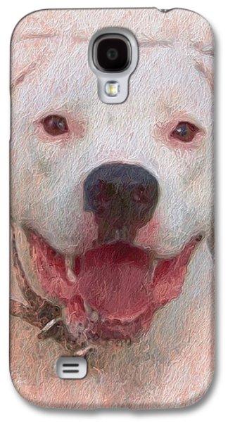 Pit Bull Galaxy S4 Case by Skip Hunt