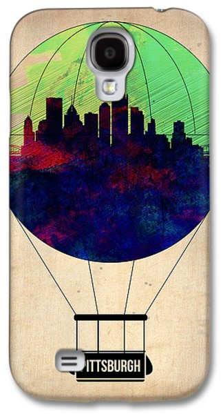 Balloons Galaxy S4 Cases - Pittsburgh Air Balloon Galaxy S4 Case by Naxart Studio