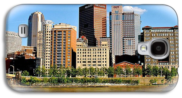Pittsburgh In The Spotlight Galaxy S4 Case by Frozen in Time Fine Art Photography