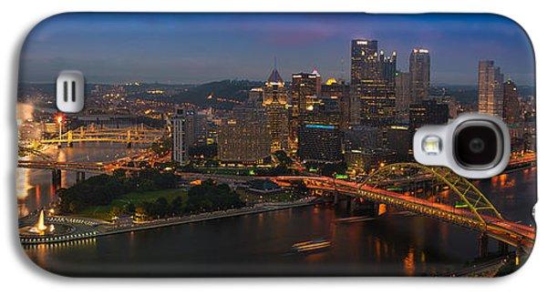 Pittsburgh Galaxy S4 Cases - Pittsburgh PA Galaxy S4 Case by Steve Gadomski