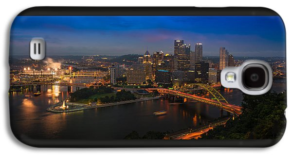 Pittsburgh Pa Galaxy S4 Case by Steve Gadomski