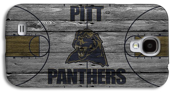 Dunk Galaxy S4 Cases - Pittsburgh Panthers Galaxy S4 Case by Joe Hamilton
