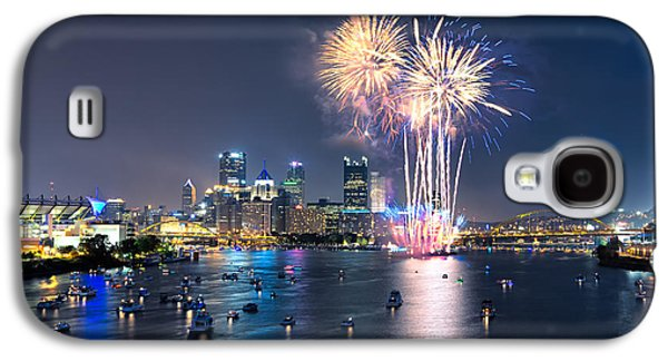 4th July Galaxy S4 Cases - Pittsburgh the 4th  Galaxy S4 Case by Emmanuel Panagiotakis