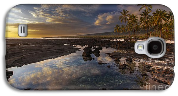 Refuge Galaxy S4 Cases - Place of Refuge Sunset Reflection Galaxy S4 Case by Mike Reid