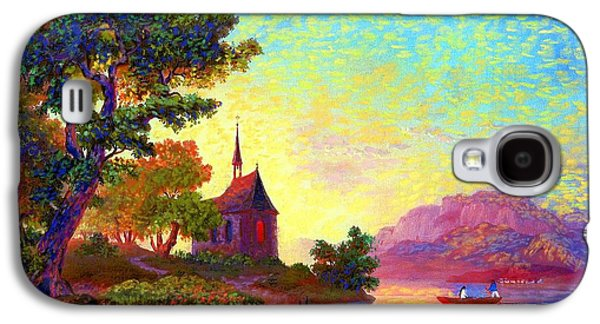 Beautiful Church, Place Of Welcome Galaxy S4 Case by Jane Small