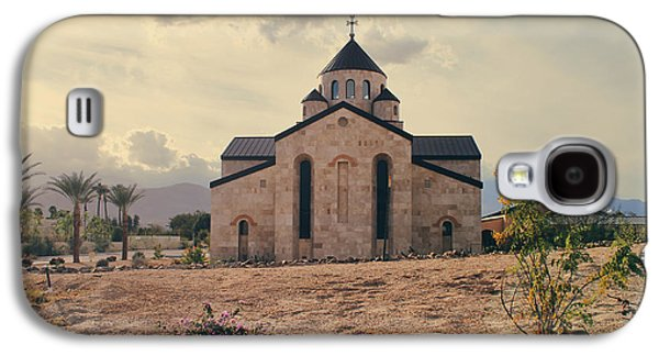 Stone Buildings Galaxy S4 Cases - Place of Worship Galaxy S4 Case by Laurie Search