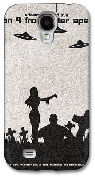 Graveyard Galaxy S4 Cases - Plan 9 from Outer Space Galaxy S4 Case by Ayse Deniz