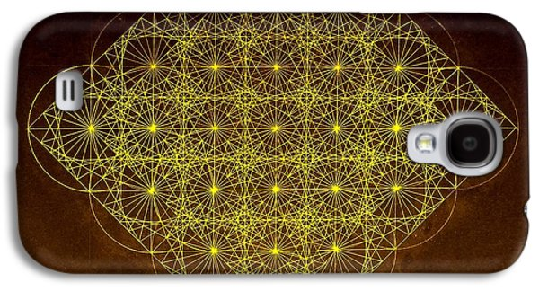 Circles Drawings Galaxy S4 Cases - Planck Space Time  Galaxy S4 Case by Jason Padgett