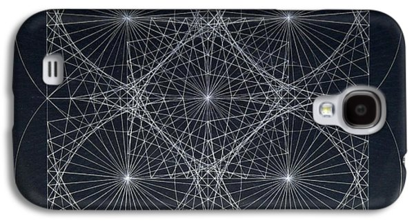 Einstein Drawings Galaxy S4 Cases - Plancks Blackhole Galaxy S4 Case by Jason Padgett