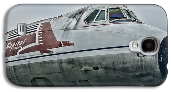 Plane Capital Airlines Galaxy S4 Case by Paul Ward
