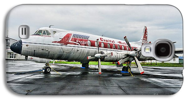 Plane Props On Capital Airlines Galaxy S4 Case by Paul Ward