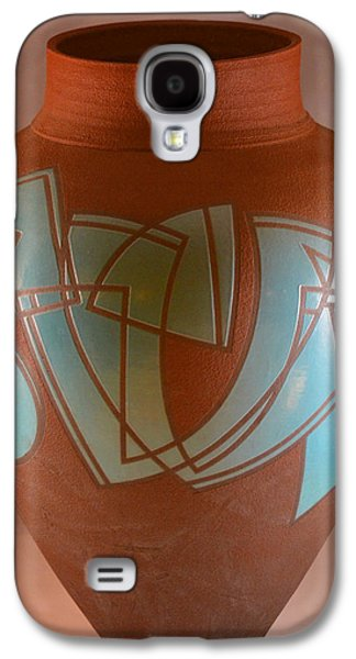 Fired Ceramics Galaxy S4 Cases - Plane Rhythm 34 Galaxy S4 Case by Chris Tennis