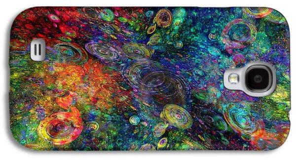 Plankton Digital Galaxy S4 Cases - Plankton Colonies Galaxy S4 Case by Klara Acel