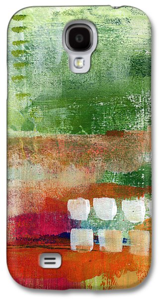 Boxes Galaxy S4 Cases - Plantation- abstract art Galaxy S4 Case by Linda Woods