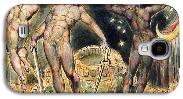 Visionary Paintings Galaxy S4 Cases - Plate 100 from Jerusalem Galaxy S4 Case by William Blake
