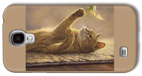 Domestic Galaxy S4 Cases - Playtime Galaxy S4 Case by Lucie Bilodeau