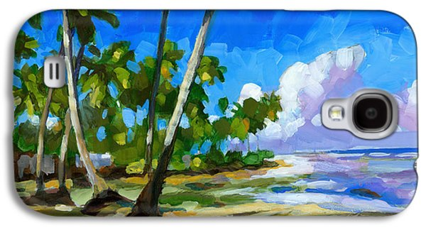 Beach Landscape Galaxy S4 Cases - Playa Bonita Galaxy S4 Case by Douglas Simonson