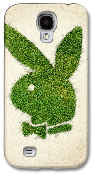Rabbit Digital Galaxy S4 Cases - Playboy Grass Logo Galaxy S4 Case by Aged Pixel