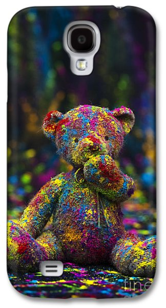 Playing Photographs Galaxy S4 Cases - Playing with coloured powder Galaxy S4 Case by Tim Gainey