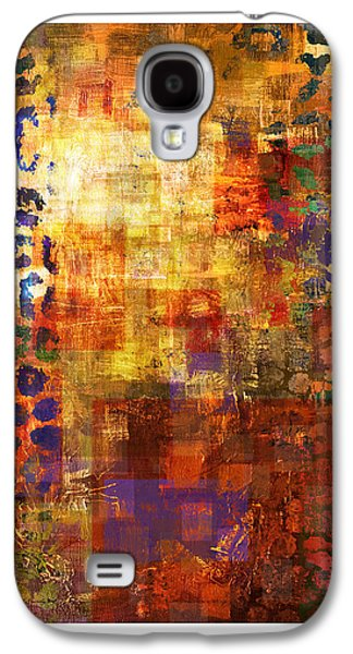 Abstract Digital Paintings Galaxy S4 Cases - Pleased Beginnings 2 Galaxy S4 Case by Craig Tinder
