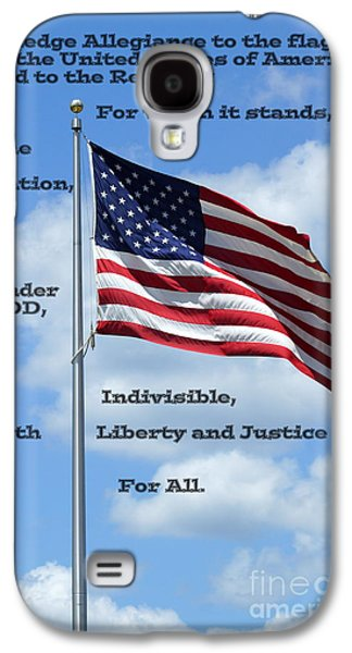 Recently Sold -  - 4th July Galaxy S4 Cases - Pledge of Allegiance Galaxy S4 Case by Paul  Wilford