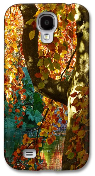 Contemplative Photographs Galaxy S4 Cases - Plucking The Rainbow Galaxy S4 Case by Connie Handscomb