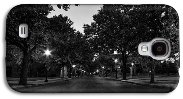 Downtown Franklin Galaxy S4 Cases - Plum Street to Franklin Square Galaxy S4 Case by Everet Regal