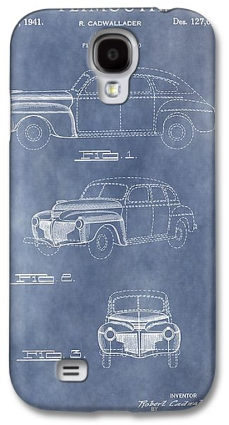 Mechanics Mixed Media Galaxy S4 Cases - Plymouth Patent Galaxy S4 Case by Dan Sproul