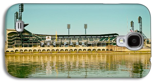 Pennsylvania Baseball Parks Galaxy S4 Cases - PNC Park - Home of the Pittsburgh Pirates Galaxy S4 Case by Mountain Dreams
