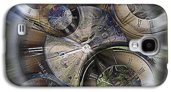 What Is Life? Mixed Media Galaxy S4 Cases - Pocketwatches 2 Galaxy S4 Case by Steve Ohlsen