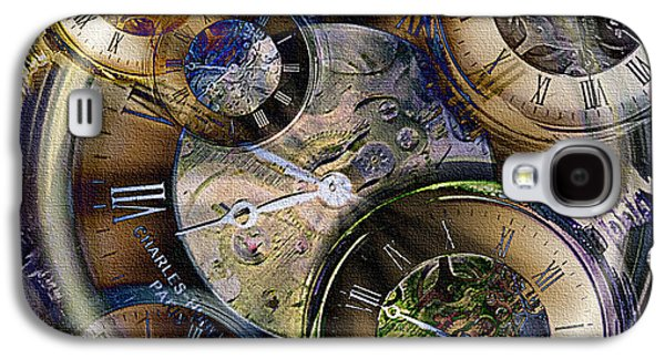 What Is Life? Mixed Media Galaxy S4 Cases - Pocketwatches Galaxy S4 Case by Steve Ohlsen