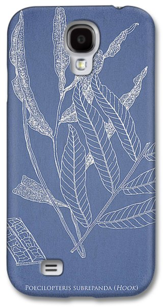 Ferns Galaxy S4 Cases - Poecilopteris subrepanda Galaxy S4 Case by Aged Pixel