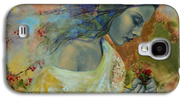 Berries Galaxy S4 Cases - Poem at Twilight Galaxy S4 Case by Dorina  Costras