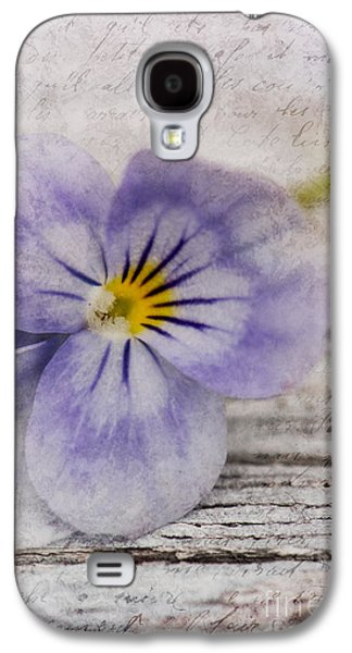 Poetry Galaxy S4 Cases - Poetry Galaxy S4 Case by Priska Wettstein