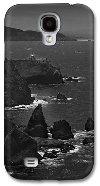 Vertical Digital Art Galaxy S4 Cases - Point Bonita Light Galaxy S4 Case by Mike McGlothlen
